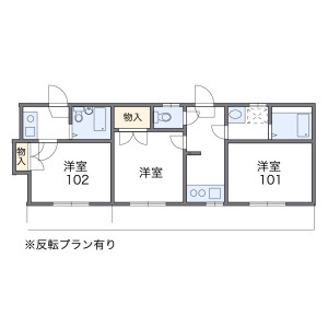 1R Apartment in Denenchofu - Ota-ku Floorplan