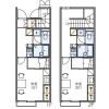 1K Apartment to Rent in Nagoya-shi Minami-ku Floorplan