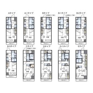 1K Mansion in Kusabacho - Kumamoto-shi Chuo-ku Floorplan