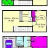 1SLDK House to Rent in Meguro-ku Floorplan