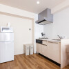 1R Serviced Apartment to Rent in Fukuoka-shi Hakata-ku Kitchen