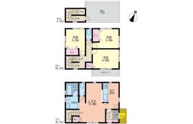 3LDK House in Serigaya - Yokohama-shi Konan-ku