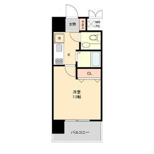 1K Mansion in Sanno - Nagoya-shi Nakagawa-ku Floorplan