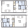 1K Apartment to Rent in Nagoya-shi Atsuta-ku Floorplan