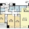 3LDK Apartment to Rent in Minato-ku Interior