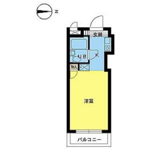 1R Mansion in Minamishinagawa - Shinagawa-ku Floorplan