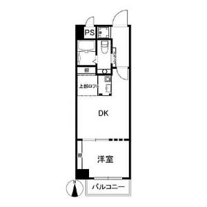 1DK {building type} in Nishitemma - Osaka-shi Kita-ku Floorplan