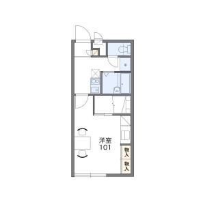 1K Apartment in Iwataki - Yosa-gun Yosano-cho Floorplan