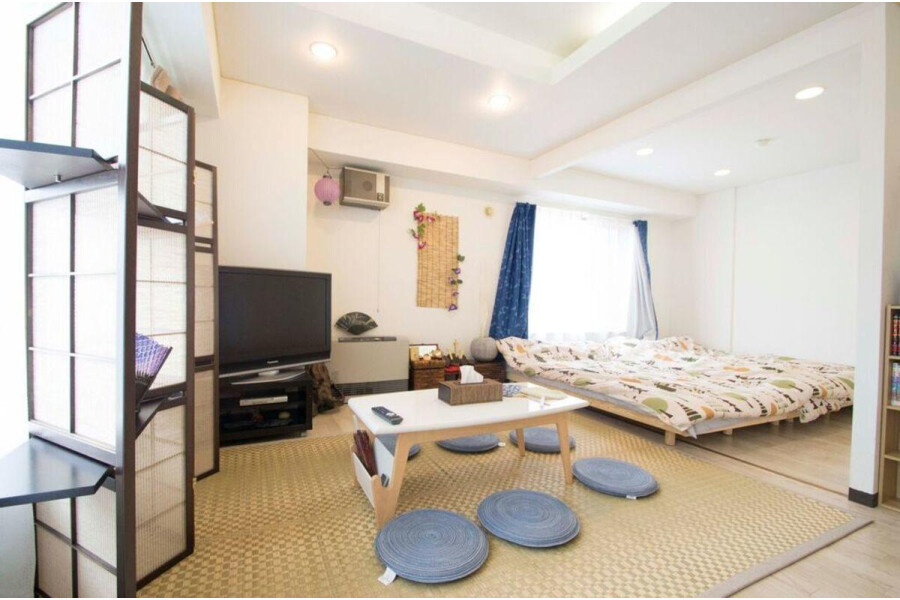 1R Apartment to Rent in Sapporo-shi Chuo-ku Living Room