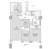 2SLDK Apartment to Buy in Chiyoda-ku Floorplan