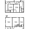 Shared Guesthouse to Rent in Kita-ku Floorplan