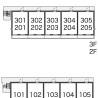 1LDK Apartment to Rent in Osaka-shi Hirano-ku Interior