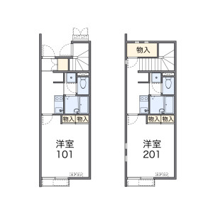 1K Apartment in Nagoya-shi Midori-ku Floorplan