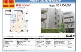 3LDK Apartment in Oizumigakuencho - Nerima-ku