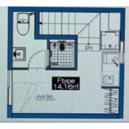 1R Apartment in Oyaguchi kitacho - Itabashi-ku Floorplan