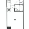 在港區購買1R 公寓大廈的房產 房間格局