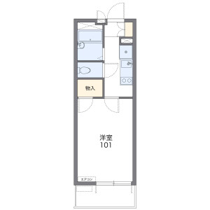 1K Mansion in Shakujiidai - Nerima-ku Floorplan
