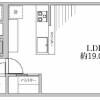 在澀谷區購買3LDK 公寓大廈的房產 房間格局