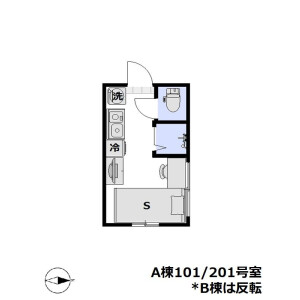 1R Apartment in Shimura - Itabashi-ku Floorplan