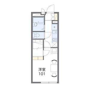 1K Apartment in Kumagawa - Fussa-shi Floorplan