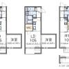 1DK Apartment to Rent in Yokohama-shi Seya-ku Floorplan