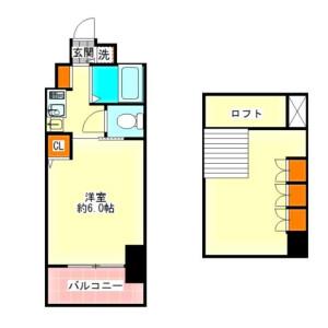 1K {building type} in Suehirocho - Osaka-shi Kita-ku Floorplan