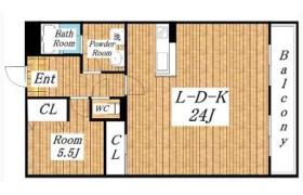 1LDK Apartment in Tatsumikita - Osaka-shi Ikuno-ku
