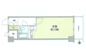 1R {building type} in Daita - Setagaya-ku