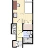 1R Apartment to Rent in Sumida-ku Floorplan