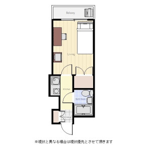 1R Mansion in Honjo - Sumida-ku Floorplan