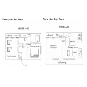 3LDK House in Hommachi - Shibuya-ku Floorplan