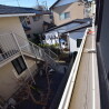 1K Apartment to Rent in Hino-shi Balcony / Veranda