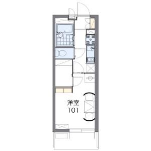 1K Mansion in Kandacho - Nagoya-shi Chikusa-ku Floorplan