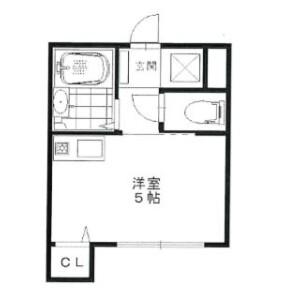 1K Apartment in Igusa - Suginami-ku Floorplan