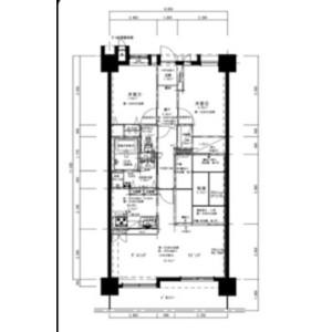 2LDK Mansion in Wajiro - Fukuoka-shi Higashi-ku Floorplan