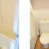 1K Apartment to Rent in Osaka-shi Miyakojima-ku Bathroom