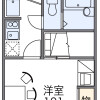 1K Apartment to Rent in Otsu-shi Floorplan