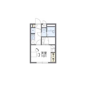 1K Mansion in Ogikubo - Suginami-ku Floorplan