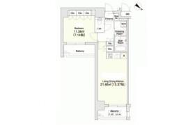 新宿区 - 市谷砂土原町 简易式公寓 1LDK