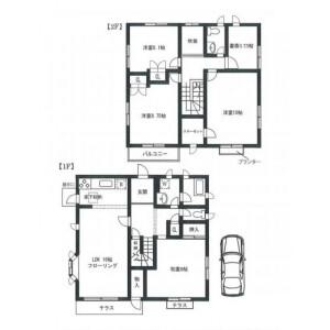 4SLDK House in Kitaminemachi - Ota-ku Floorplan