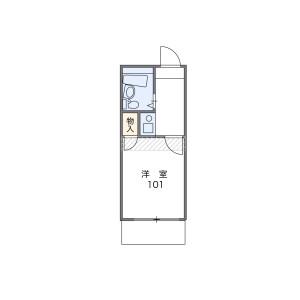 1R Apartment in Minamiogikubo - Suginami-ku Floorplan