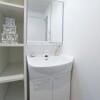 在新宿區內租賃2LDK 公寓大廈 的房產 盥洗室