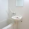 在羽島市內租賃1K 公寓 的房產 浴室