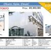 1R Apartment to Buy in Ota-ku Map