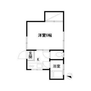 1K Apartment in Koenjiminami - Suginami-ku Floorplan