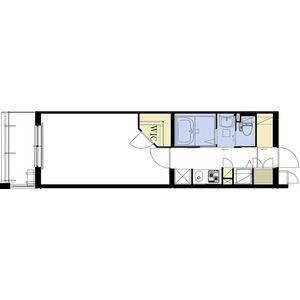1K Mansion in Matsubara - Izumisano-shi Floorplan