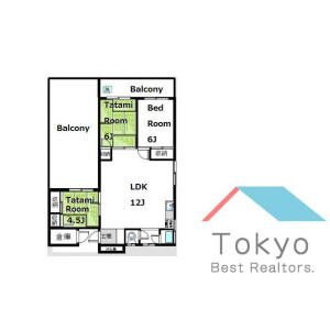 3LDK Mansion in Higashinakano - Nakano-ku Floorplan