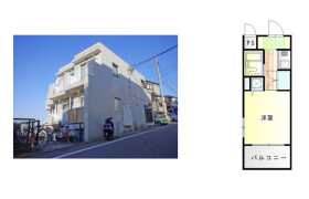 1K {building type} in Horinochicho - Yokohama-shi Minami-ku