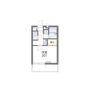 1K Mansion in Kitazawa - Setagaya-ku Floorplan