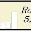 1R Apartment to Rent in Osaka-shi Minato-ku Floorplan